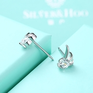 Picture of Superior Fashion Bag Supplier Platinum Plated White Stud