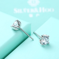 Picture of Professional White Platinum Plated Stud