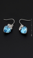 Picture of Believable Heart & Love European Earrings
