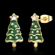 Picture of  Small Holiday Stud Earrings 3LK053851E