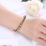 Picture of New Season Gold Plated Copper or Brass Cuff Bangle with SGS/ISO Certification