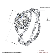 Picture of Attractive White Cubic Zirconia Fashion Ring For Your Occasions