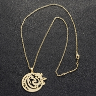 Picture of Casual Gold Plated Long Chain Necklace with Fast Delivery