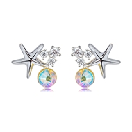 Picture of Zinc Alloy Fashion Stud Earrings from Certified Factory
