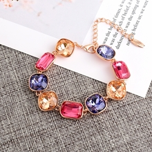 Picture of Classic Rose Gold Plated Fashion Bracelet of Original Design