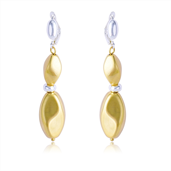 Picture of Classic Gold Plated Dangle Earrings with Fast Delivery