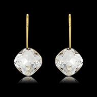Picture of Trendy White Zinc Alloy Dangle Earrings with No-Risk Refund