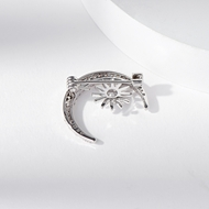 Picture of Wholesale Platinum Plated Copper or Brass Brooche for Female