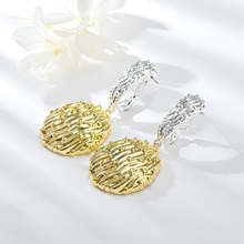 Picture of Unusual Dubai Gold Plated Dangle Earrings