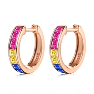 Picture of Stylish Small 925 Sterling Silver Small Hoop Earrings