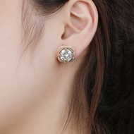 Picture of Luxury Copper or Brass Stud Earrings with Fast Shipping